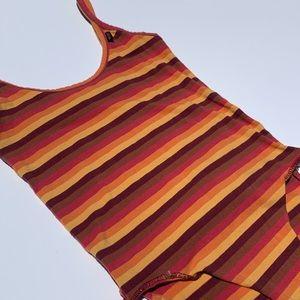 Wrangler striped body suit